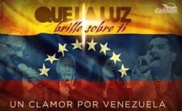 Salmistas de CanZion participan en el concierto «Juntos por Venezuela»
